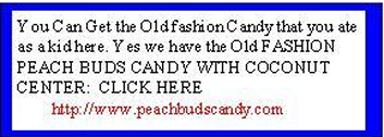 PEACH BUDS CANDY AD