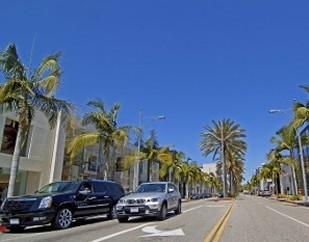 Driving On Rodeo Drive